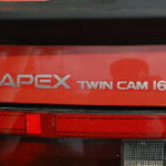 AE86 トレノ写真館 アペックスステッカー