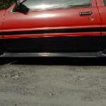 AE86 トレノ写真館 サイドステップ